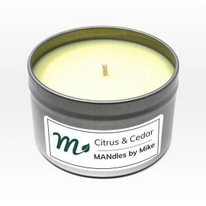 Citrus & Cedar Candle