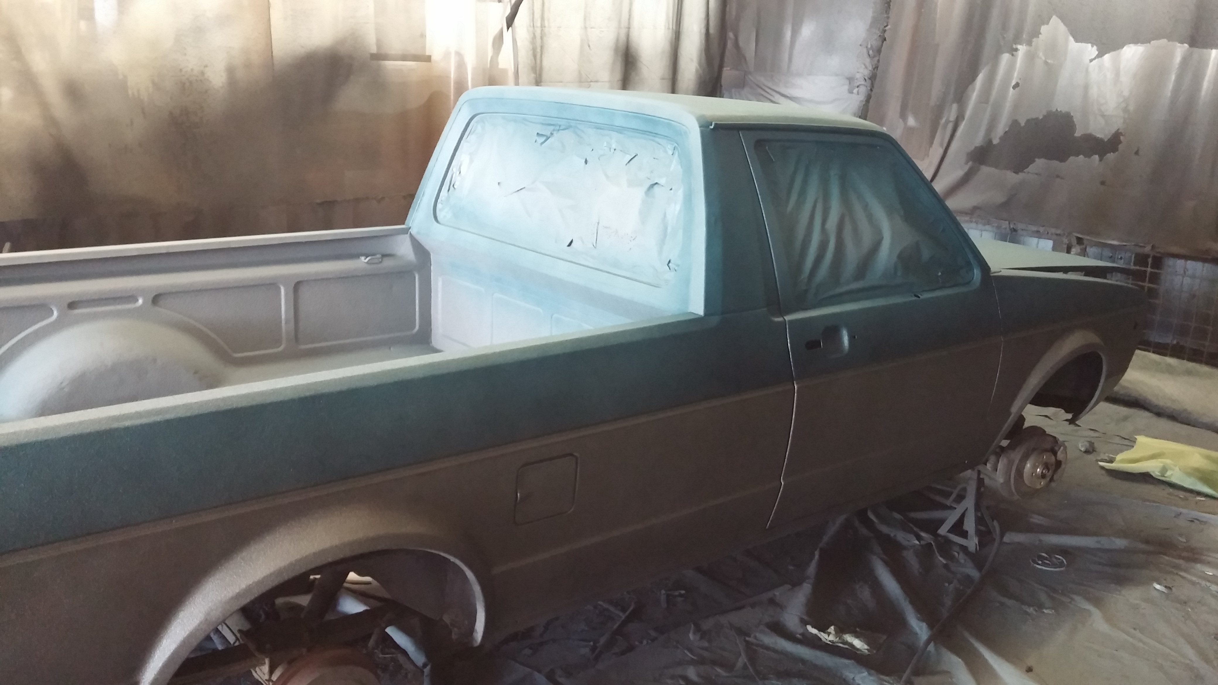 Mike's Truck & Line-x Bay Area gives truck a new skin