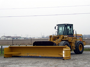 Trucks - Equipment - Loader with Snow Plow