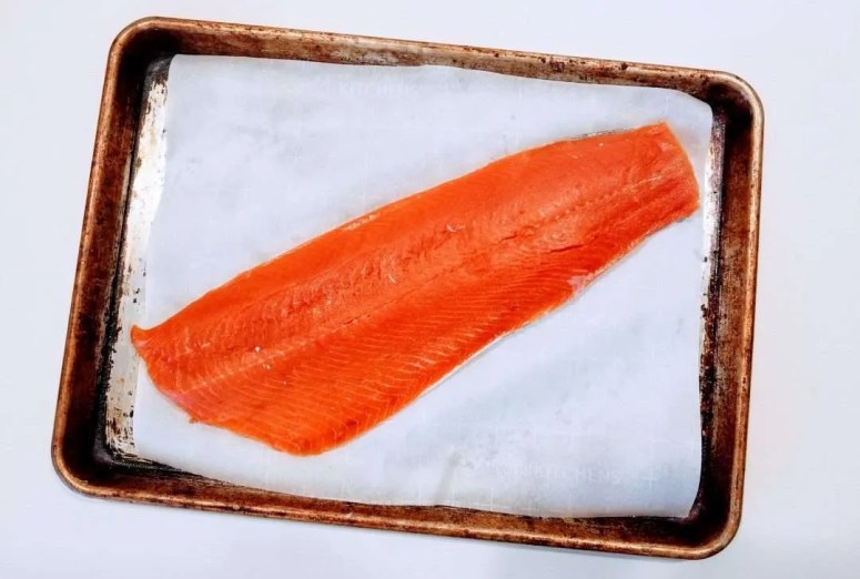 miso butter salmon from run fast cook fast eat slow