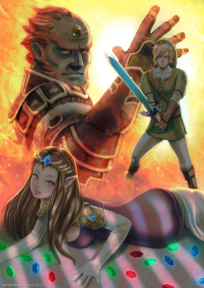 zelda_ganon_and_link_by_jaimito-d4sz4yd