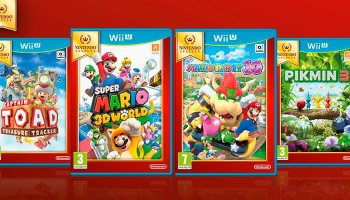 Pikmin 3 Mario Party 10 Are 2 Of 4 New Nintendo Select Titles