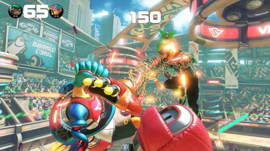 ARMS Switch Review Grab Ninjara.jpg