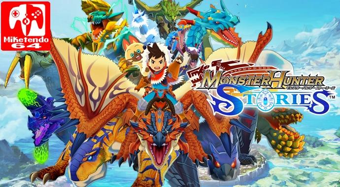 Review Monster Hunter Stories Nintendo 3ds Miketendo64