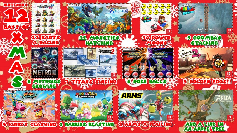 Nintendo 12 Days of Xmas