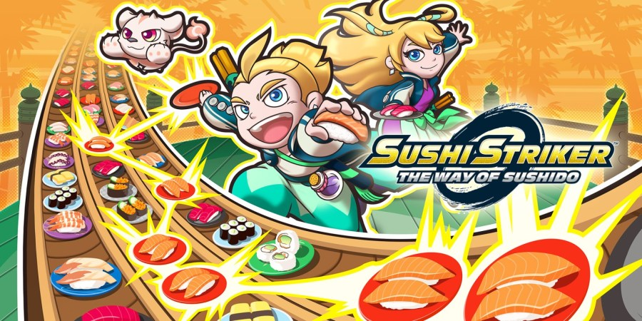 Image result for sushi striker  switch