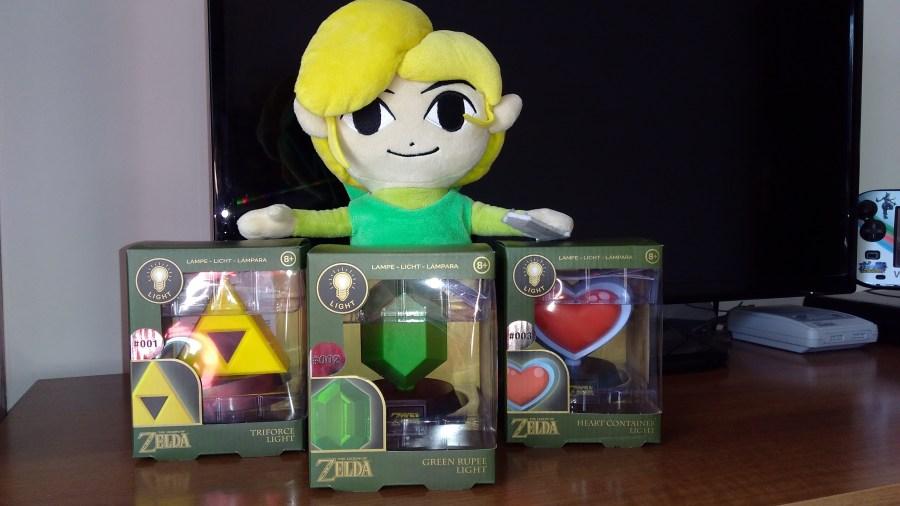 Merchoid Zelda Lamps