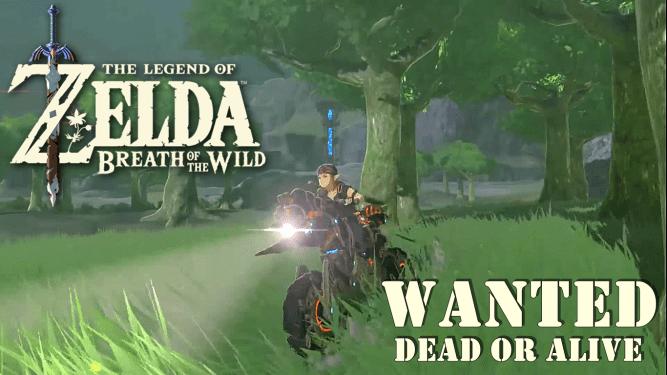 Zelda Music Video (Wanted Dead Or Alive)