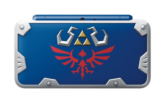 Nintendo 2DS XL Hylian Shield Edition