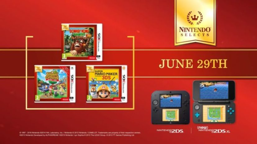 More 3DS Titles Are Joining The Nintendo Selects Range