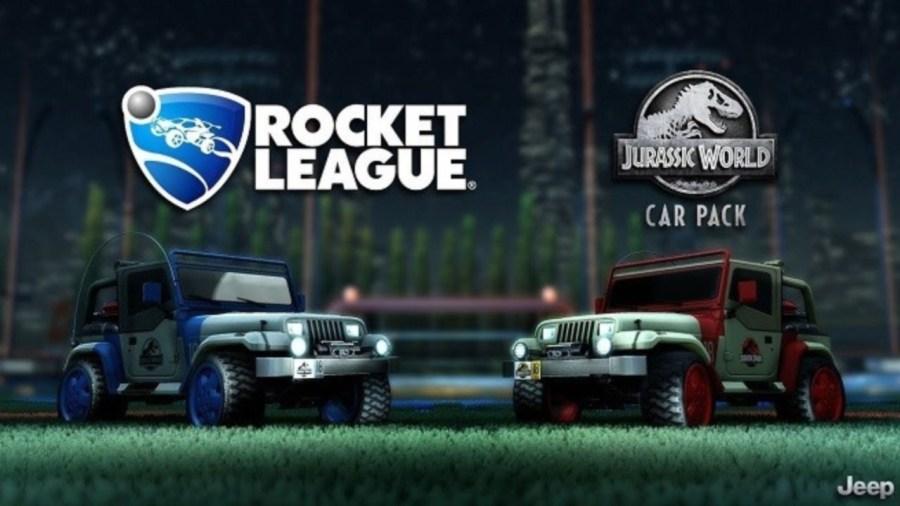 Rocket League Jurassic World Cars Pack
