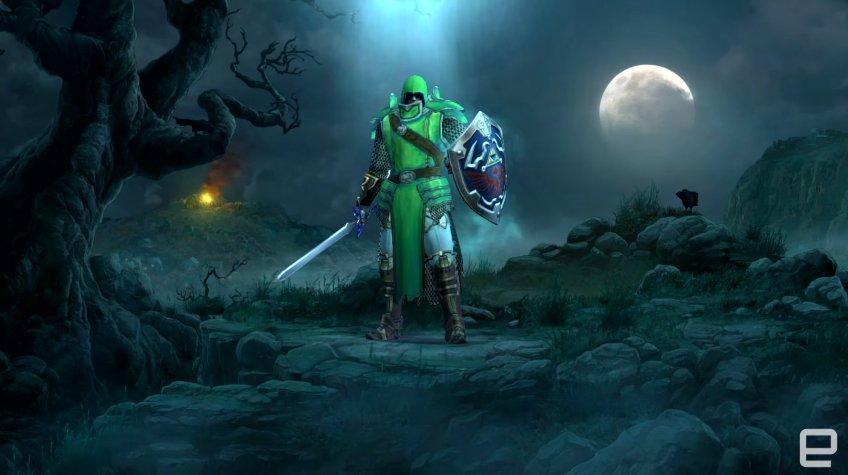 Zelda content in Diablo III