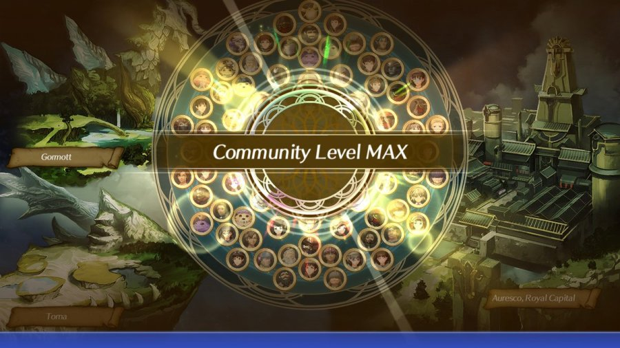 Community Level Max unlock