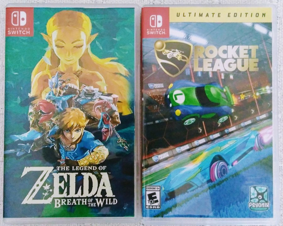 Alternate Switch Box Art Covers