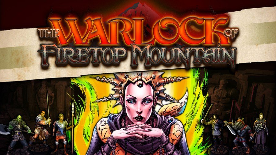 The Warlock of Firetop Mountain switch review