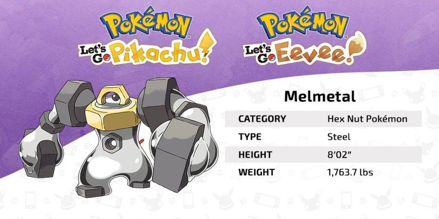 Melmetal Guide Meltan Guide