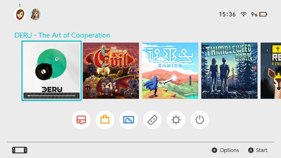 Deru - The Art of Cooperation switch review