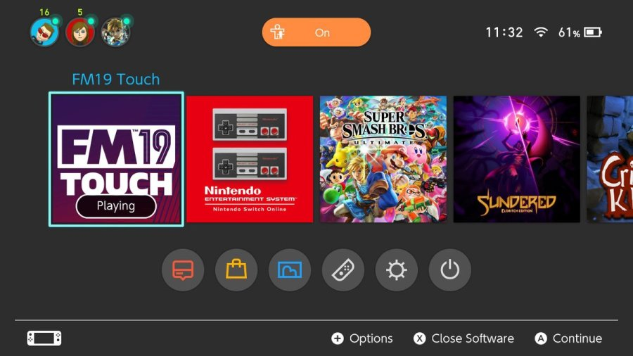 Football Manager 2019 Touch switch review