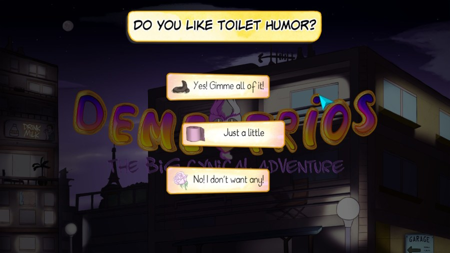 Demetrios – The BIG Cynical Adventure switch review