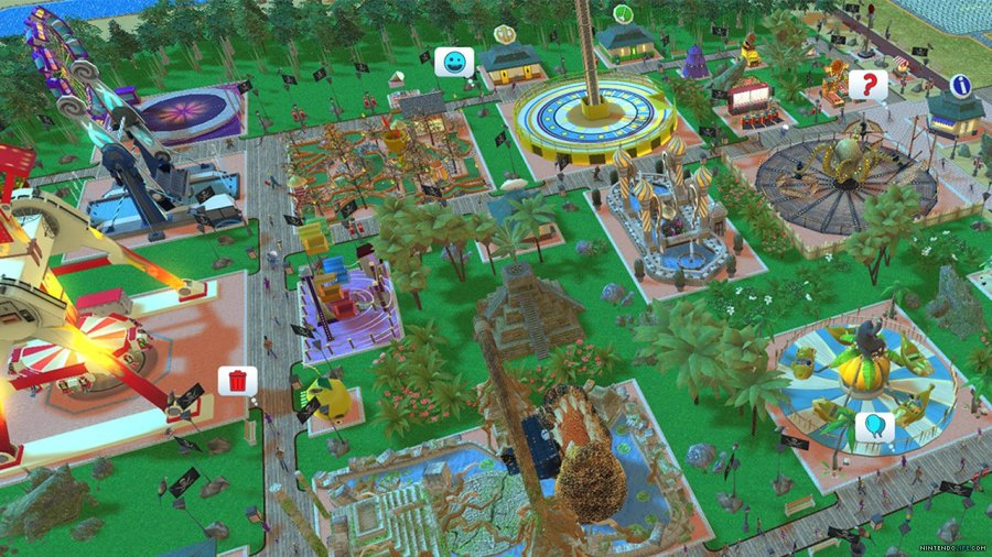 RollerCoaster Tycoon Adventures switch review