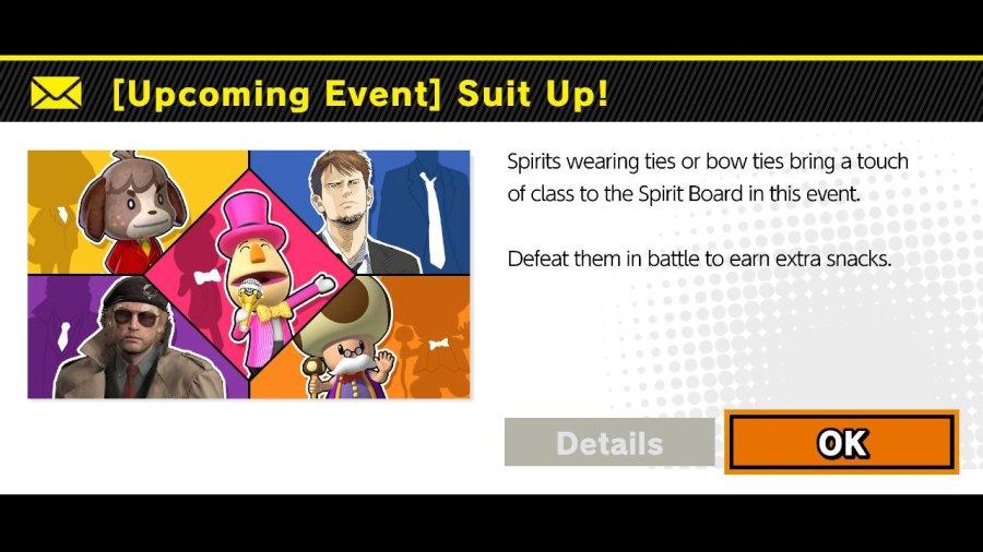 Suit Up! Spirit Event