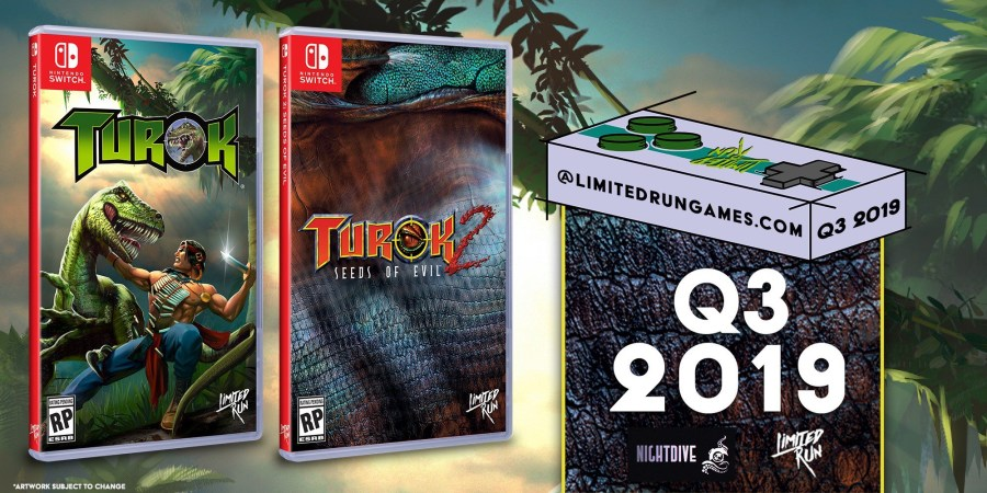 Turok 2: Seeds Of Evil Switch Physical