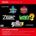 Nintendo E3 2019 Playable Games