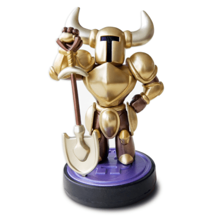 Gold Shovel Knight amiibo