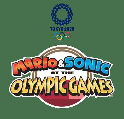 Mario And Sonic Tokyo 2020 logo