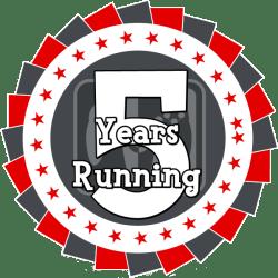 5 Years Running
