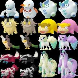 Rumour More Galarian Form Pokemon Discovered In Pokemon Go Coding Miketendo64 Miketendo64