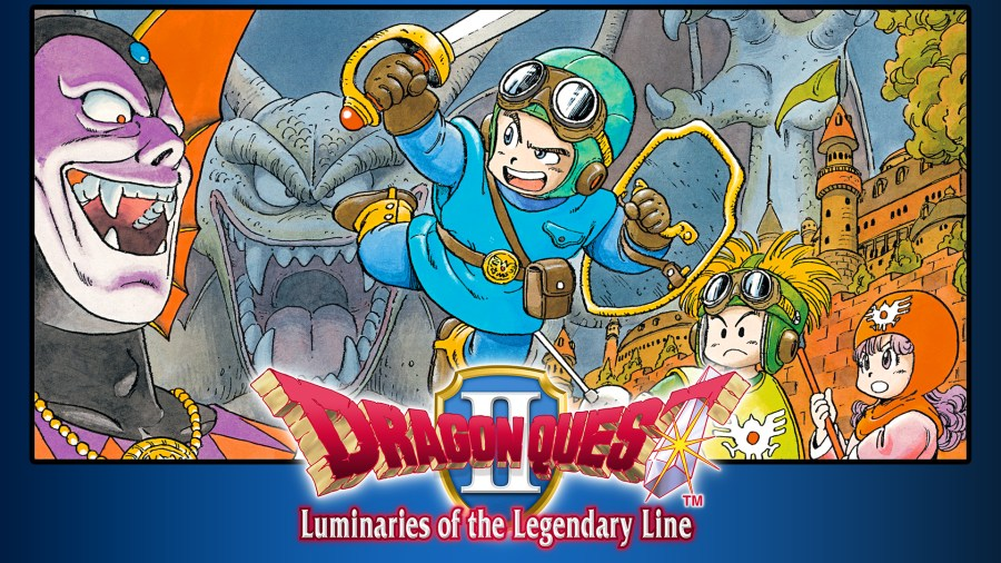 dragon quest ii- uminaries of the legendary line