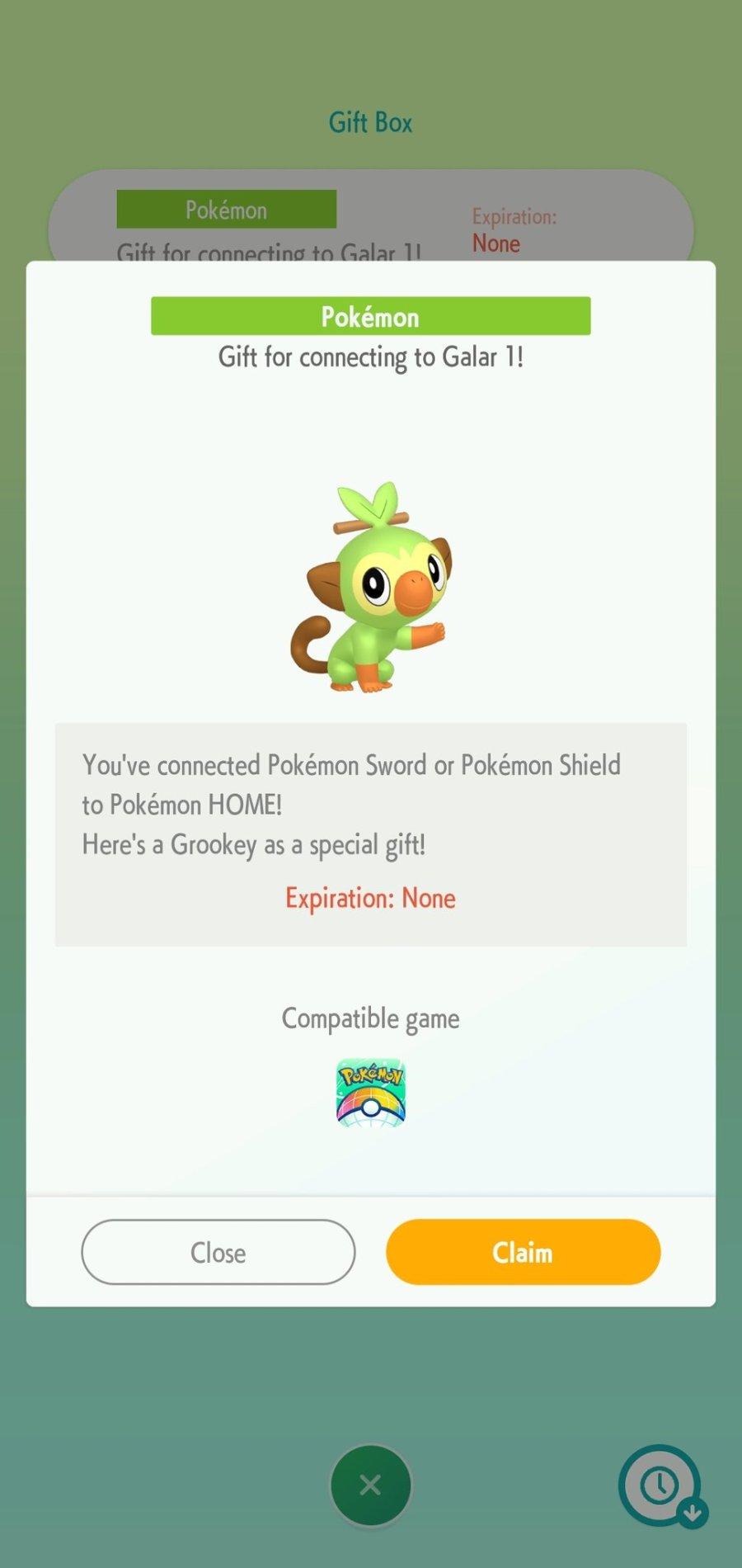 Gift Pokémon