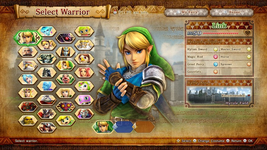 Hyrule Warriors Definitive Edition Character Unlock Guide