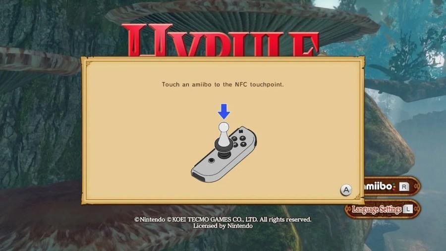Hyrule Warriors Definitive Edition amiibo Guide