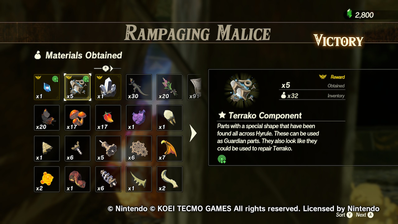 Guide Hyrule Warriors Age Of Calamity Terrako S Return And True Ending Guide Miketendo64