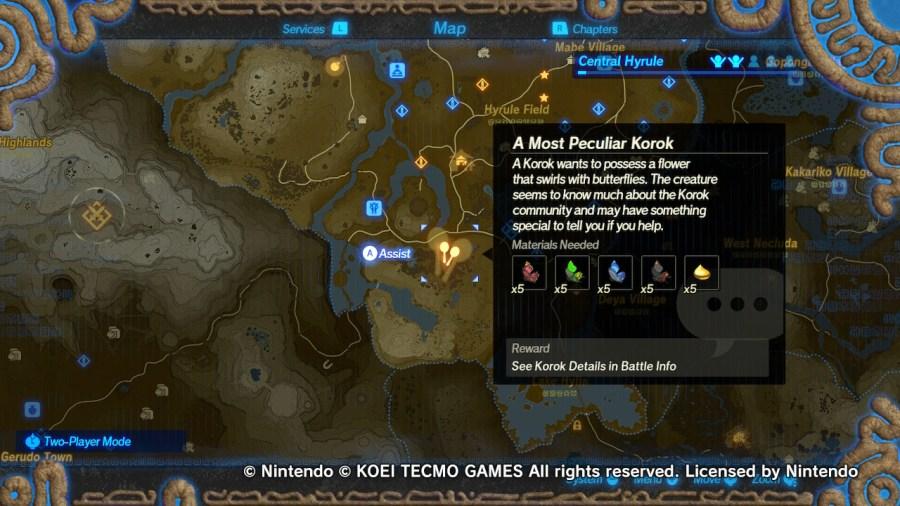 Guide Hyrule Warriors Age Of Calamity Korok Seeds Miketendo64
