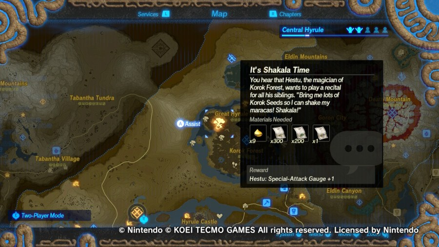 Guide Hyrule Warriors Age Of Calamity Korok Seeds Miketendo64