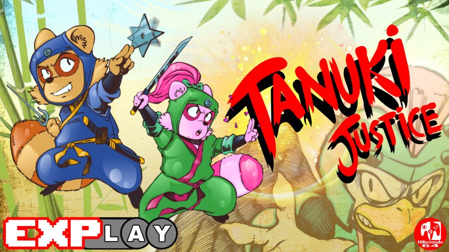 EXPlay Tanuki Justice