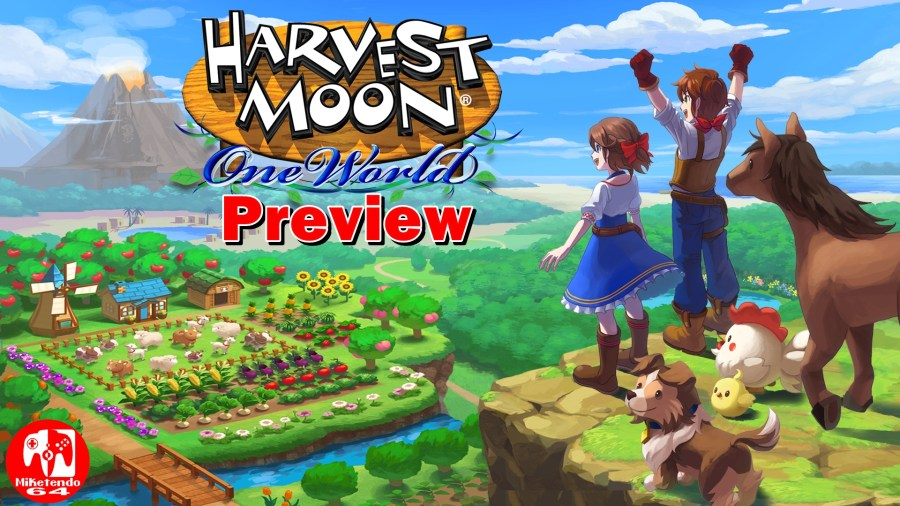 Harvest Moon: One World Preview