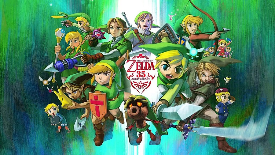 Zelda 35th Annivesary