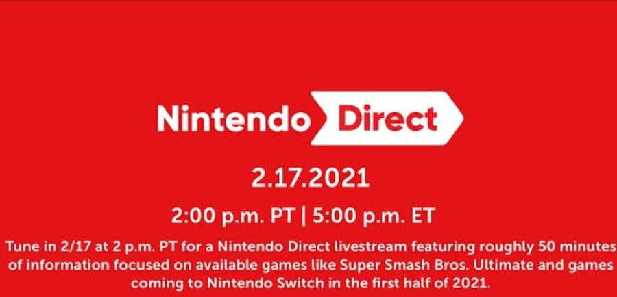 2021 Nintendo Direct
