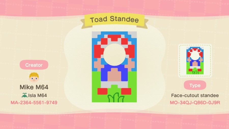 Toad Standee