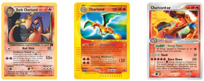 Charizard Cards