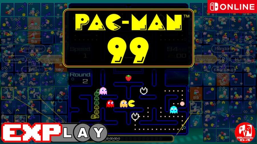 PAC-MAN 99 EXPlay