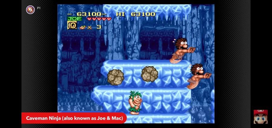 Caveman Ninja / Joe & Mac