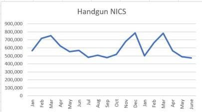 NICS handguns