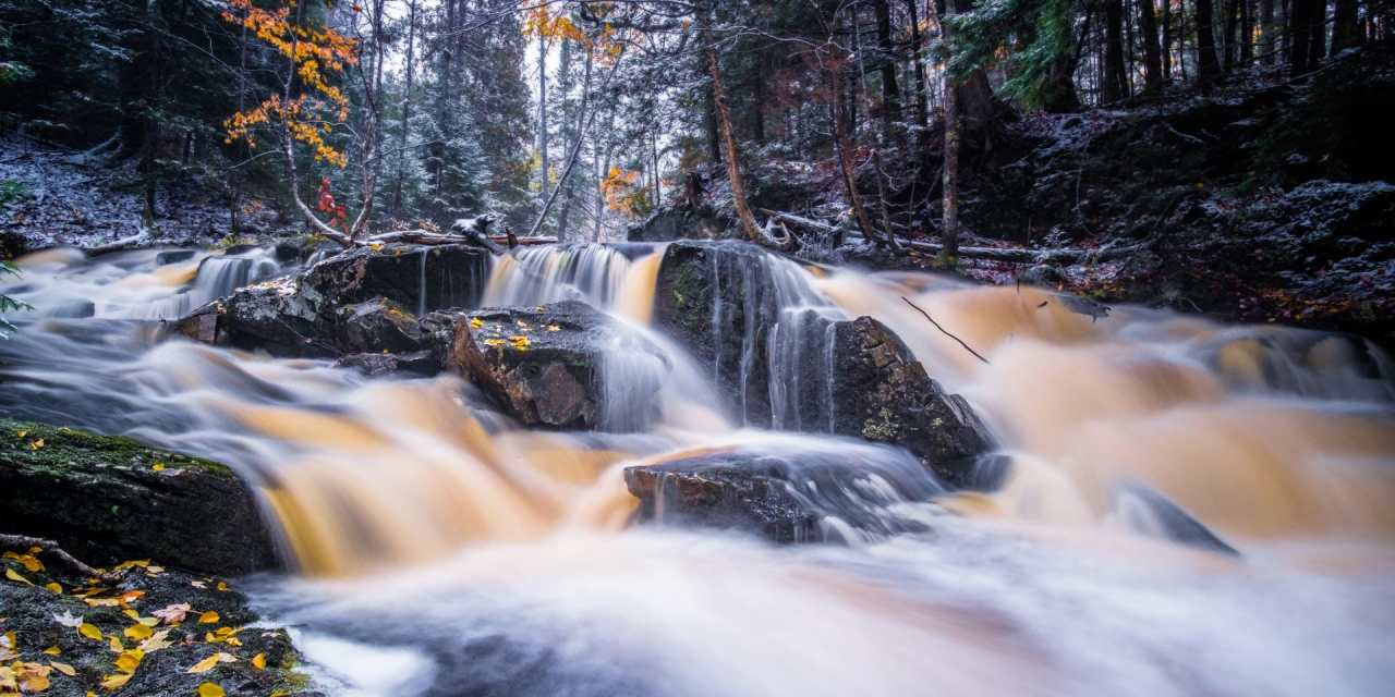 Herman Cascades in Herman, Michigan