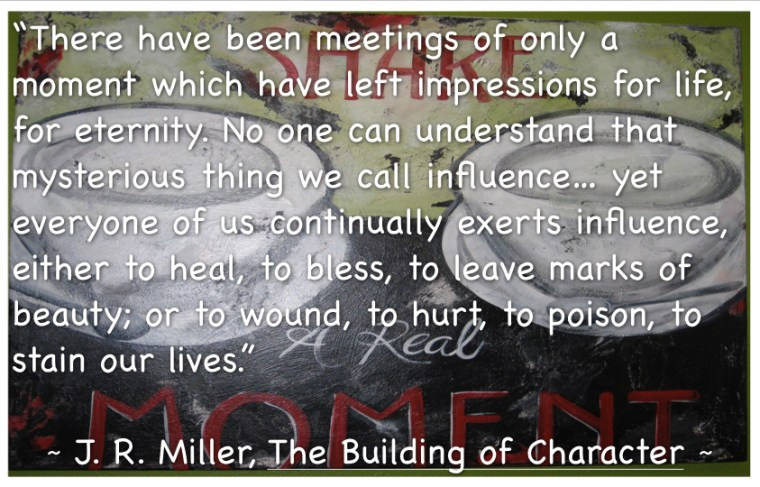 Building of Character Quote