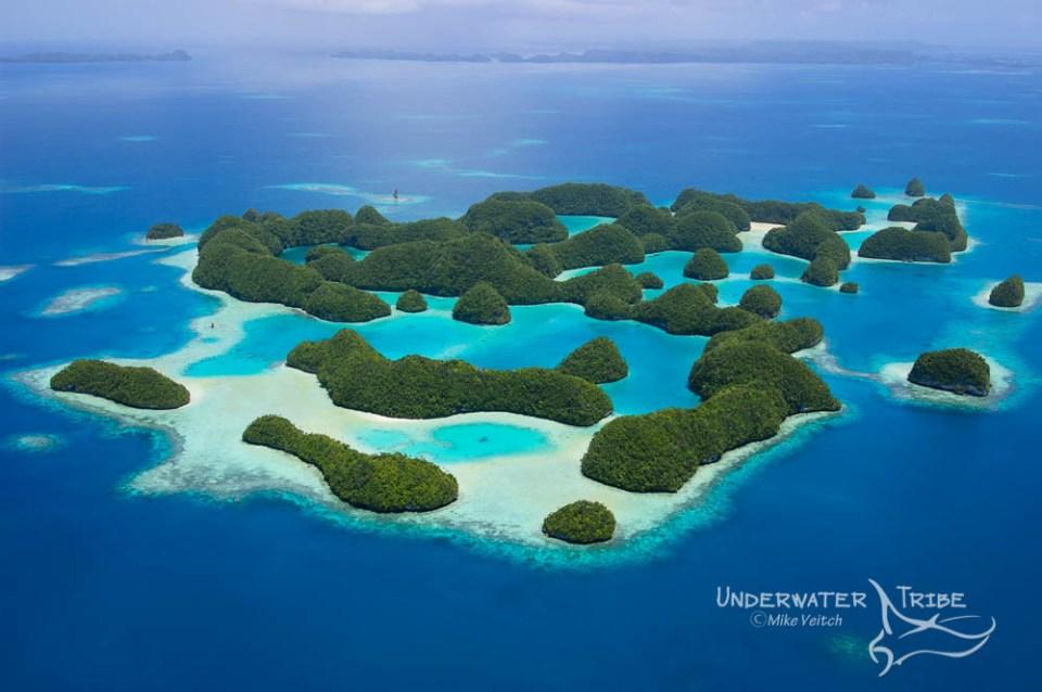 70 Islands in Palau Micronesia